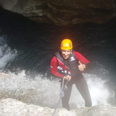 Canyoning mountain guides sunnyclimb