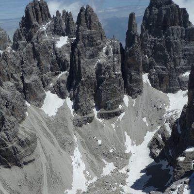Campanile Basso Dolomites Brenta www.mountaiguidesdolomites,com
