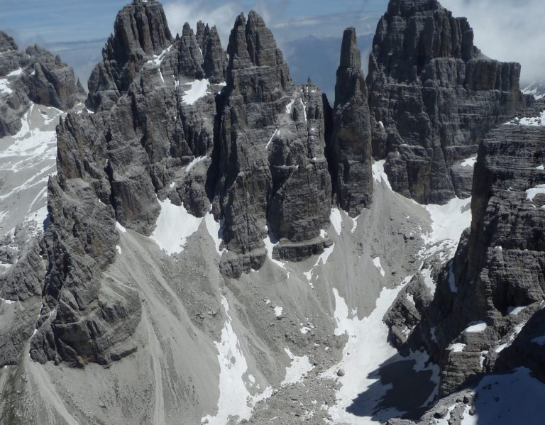 Dolomites best tower  ever Campanile Basso normal route