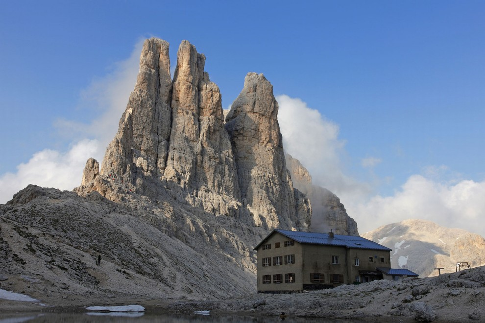 Dolomiti Vayolet tower sunnyclimb mountain guides