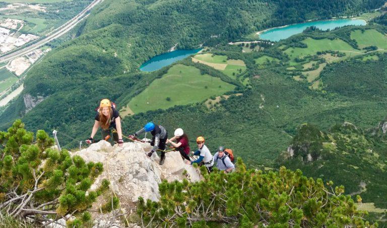 Vie Ferrate  nella valle dell'Adige