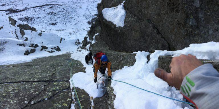 Corso d'Alpinismo  invernale