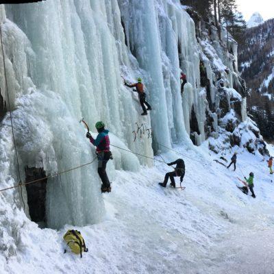 sunnyclimb.com guide alpine testing days ghiaccio