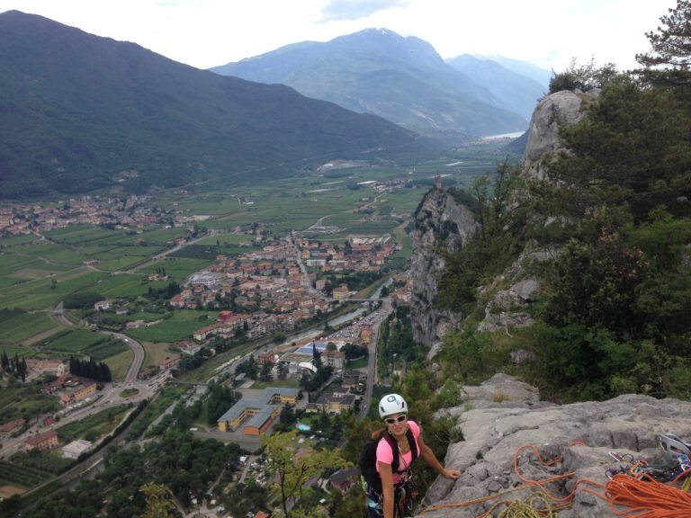 Guided multi pitch routes Sarca & Adige valley