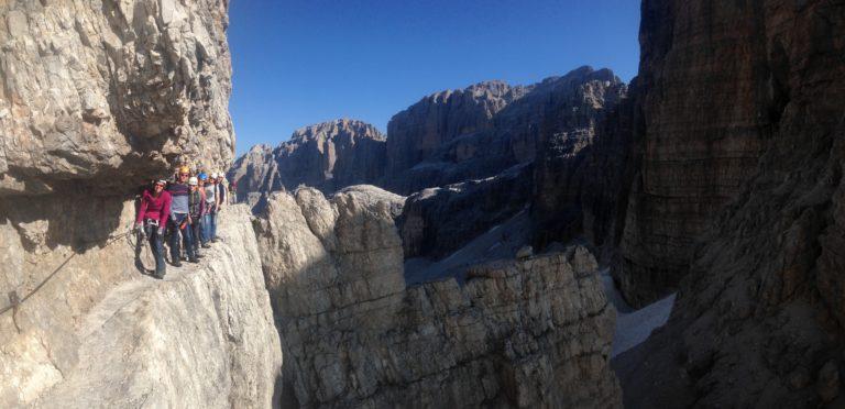 Bocchette Klettersteig   Brenta Dolomiten