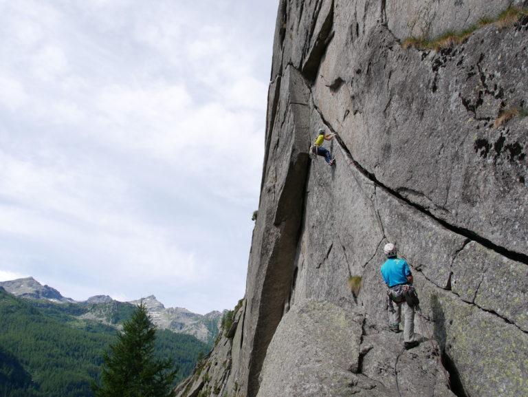Corso arrampicata Trad