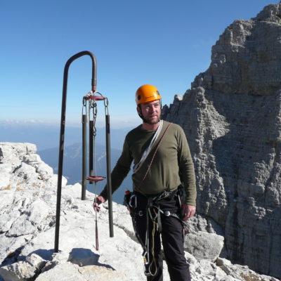 Dolomites Campanil Basso magic tower mountainguidesdolomites.com
